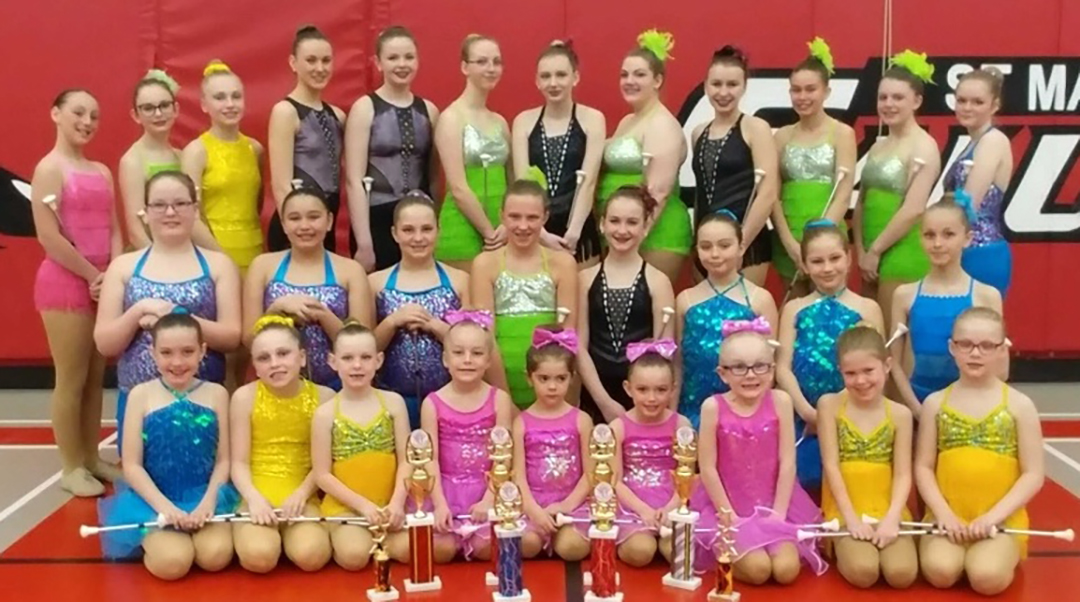 Twirling Teams Excel At Annual Competition