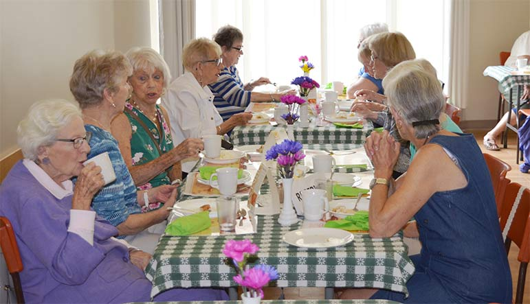 The Victoria Park Seniors Centre Peach Social brought community together.