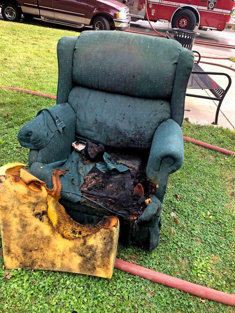 10 tenants evacuated in wake of Sunday fire