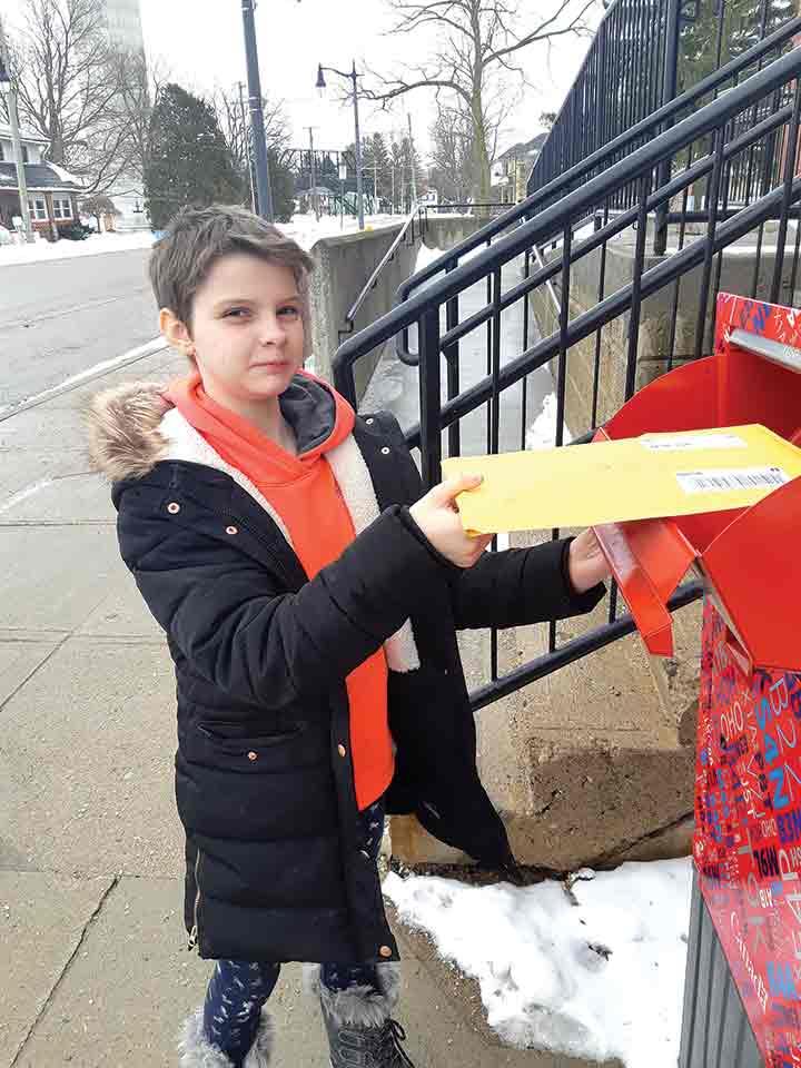 Drayton Heights student donates hair to Chai Lifeline Canada