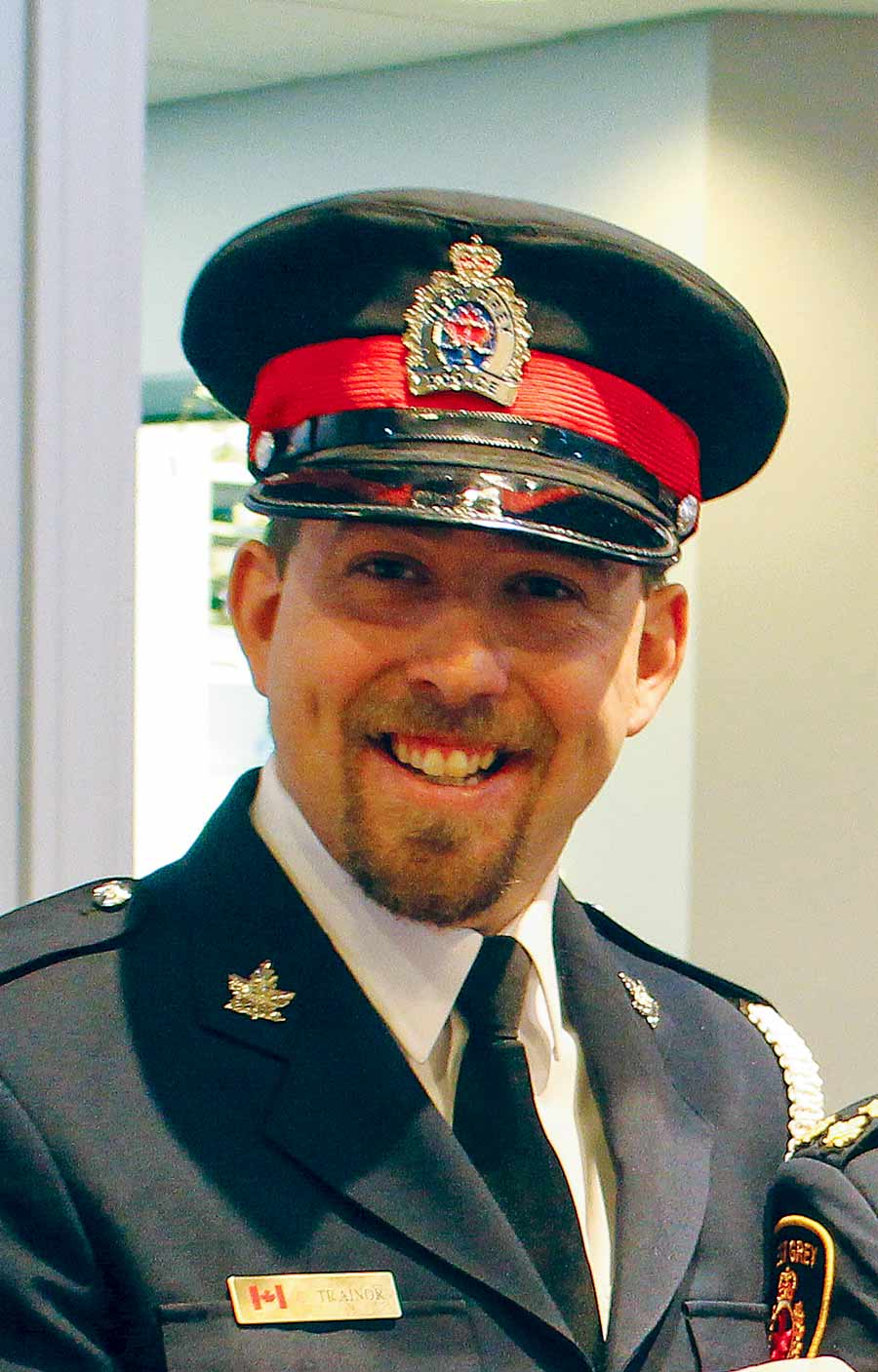 West Grey Police mourning the loss of one of their own