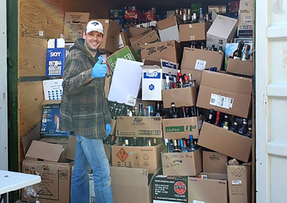 Optimists' bottle drive raises over $4,700 for Drayton ...
